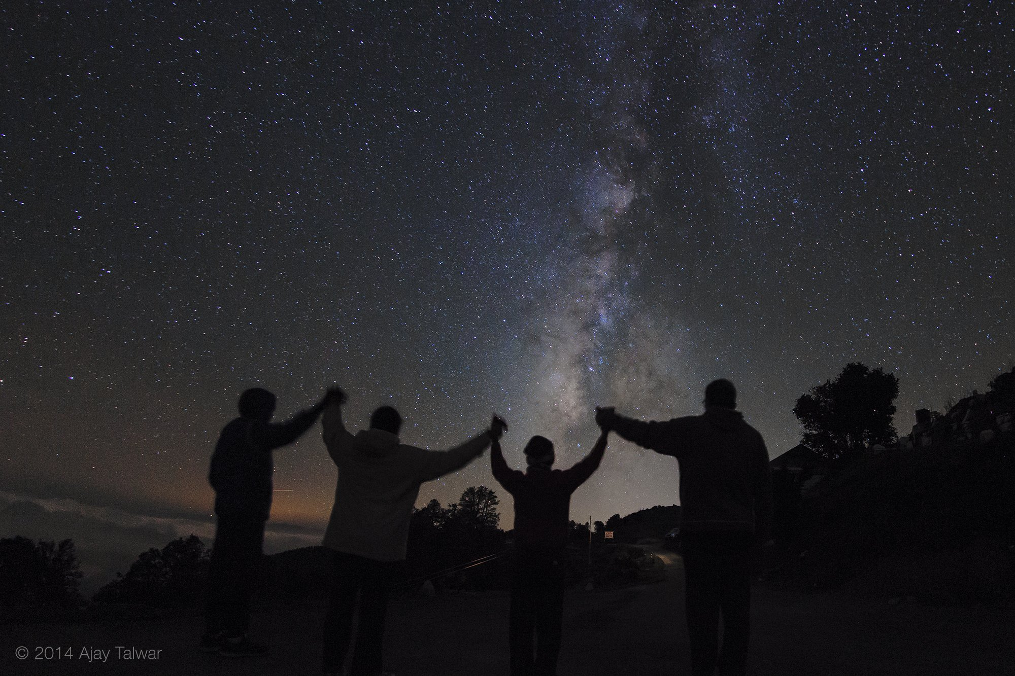 Two Family Camping Nights Under The Milky Way Those Marvelous September At Hatu Remained Clear For Us